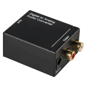 digital to analog audio converter rca coaxial toslink spdif optical 1
