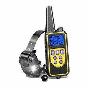 dog training collar lr remote 800m 1x dog rechargeable