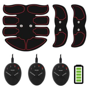ems 8 fin rechargeable abs muscle stimulator 1