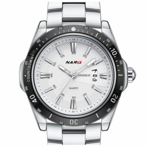 mens watch nary with quartz movement stainless waterproof