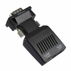 vga to hdmi converter adapter with audio